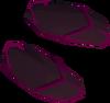 Eastern sandals (orange, female) detail