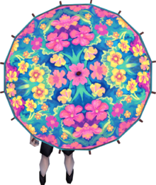 Kauai parasol equipped