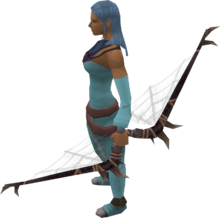 Noxious longbow equipped
