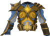Warpriest of Saradomin cuirass detail
