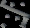 Metal catapult parts detail