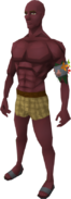 Nex red skin equipped