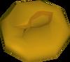 Raw fishcake detail