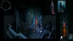 Castle Drakan entrance concept art