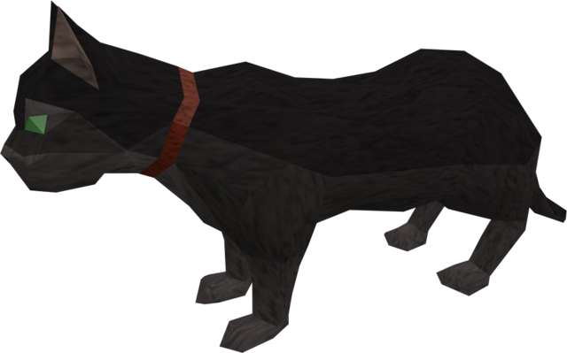 File:Overgrown cat (black) pet.png