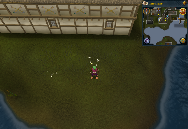 File:Compass clue Ardougne south of Poison Arrow pub.png