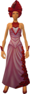 Masquerade Outfit equipped (female)