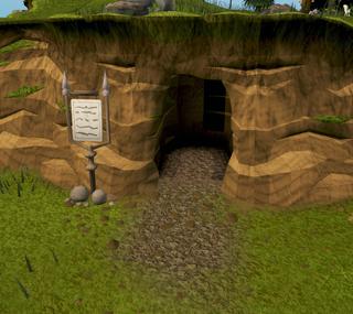 Borehole entrance