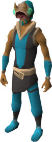 Mask of Dust equipped