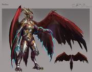 Nex - Angel of Death concept art