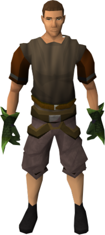 File:Green spiky vambraces equipped.png