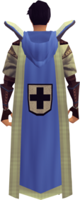 Retro hooded defence cape (t) equipped