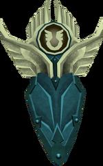 Rune kiteshield (Armadyl) detail