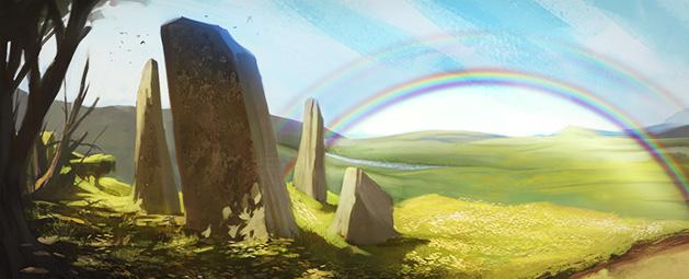 Rainbow's End update post header