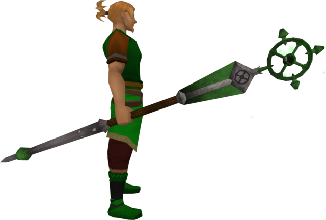 File:Enhanced ancient staff (green) equipped.png