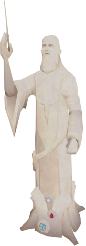 File:Saradomin statue (archmage).png