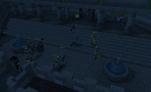 Dov zombies killing varrock guards