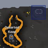 Spirit Realm portal (magic axe hut) location