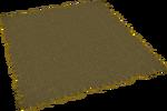 Brown rug built