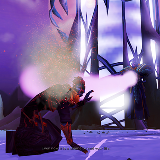 Zaros derrota Zamorak, destuindo suas asas.