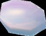 Rose-tinted lens detail