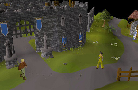 Lumbridge gatehouse old