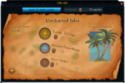 Uncharted Isles interface