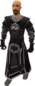 Void Knight equipment set equipped