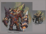 Vorago Power armour Volcanic