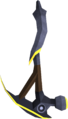 Gilded mithril pickaxe detail.png