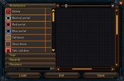 Battlefield Editing Interface