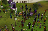 Hallowe'en event and quest location 2008