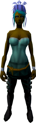 File:Feather headdress (blue) equipped.png