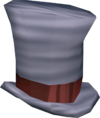 Top hat (white) detail