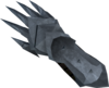 Off-hand steel claw detail