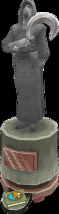 Polmafi Ferdygris statue