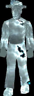 Restless ghost