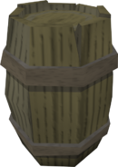 Rotten barrel detail