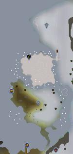 Rellekka Hunter area map