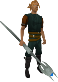 Rod of Ivandis equipped