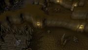 Underground slave mine
