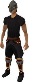 Mask of the Dagannoth equipped
