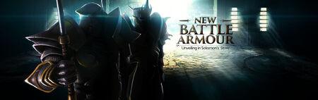 Battle Armour banner