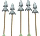 Gorgonite arrows