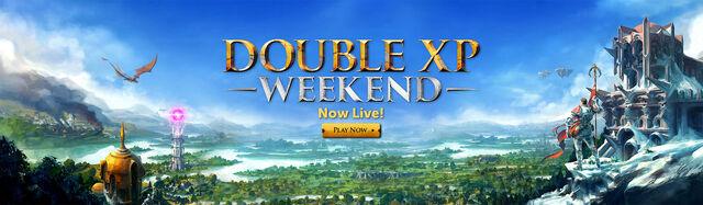File:Double XP Weekend head banner 2.jpg
