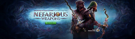 Nefarious Weapons head banner