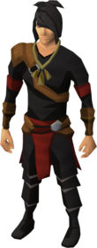 Pendant of Dungeoneering equipped