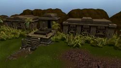 Pest Control Island ruins