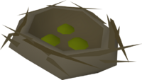 Bird's nest (seeds 1) detail
