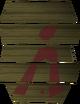 Goblin cower shield detail